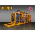 OPBM-30 Machine de fabrication de pavé et de bloc de béton