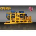 OPBM-20 Machine de fabrication de pavé et de bloc de béton