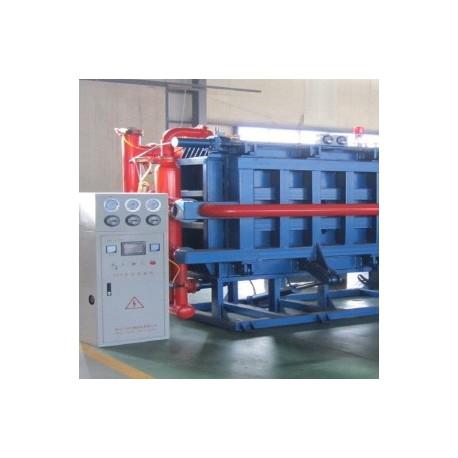 Ligne de production de produits en polystyréne
