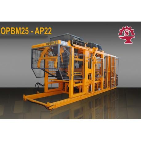OPBM-25  Machine de fabrication de pavé et de bloc de béton25